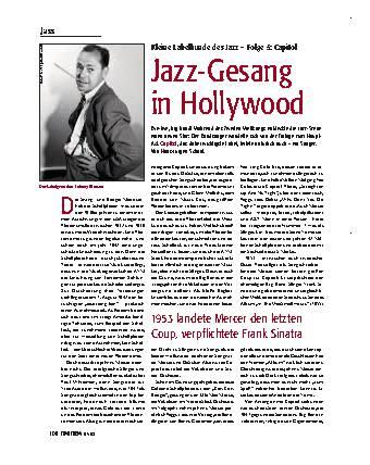 Jazz-Gesang in Hollywood