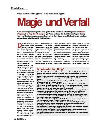 Magie und Verfall