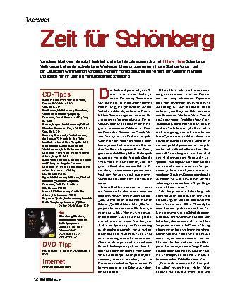 Zeit für Schönberg