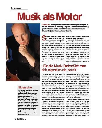 Musik als Motor
