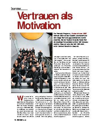 Vertrauen als Motivation
