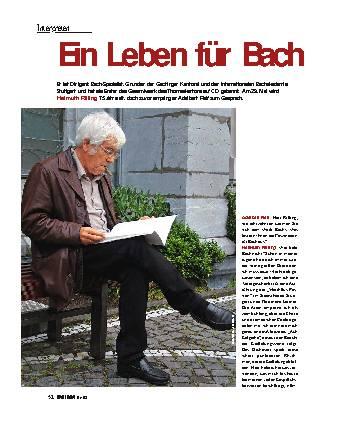 Ein Leben für Bach