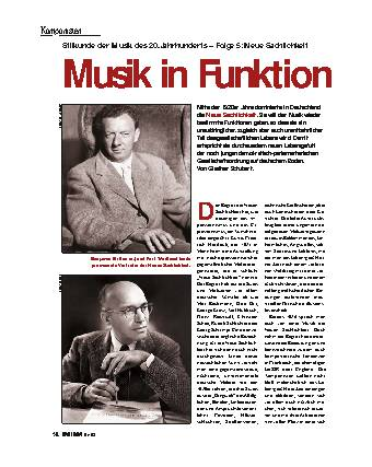 Musik in Funktion