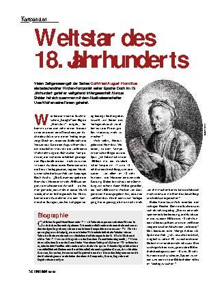 Weltstar des 18. Jahrhunderts