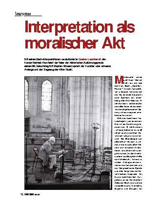 Interpretation als moralischer Akt