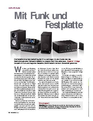 Mit Funk und Festplatte