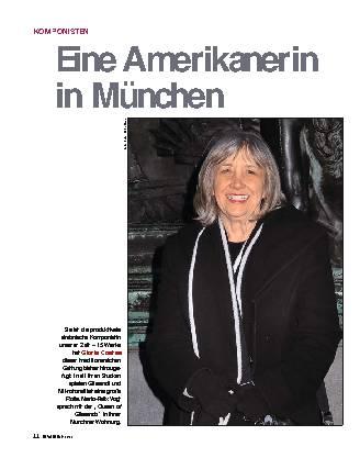 Eine Amerikanerin in München