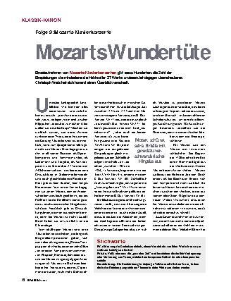 Mozarts Wundertüre