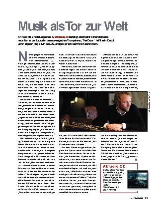 Musik als Tor zur Welt