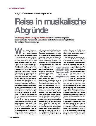 Reise in musikalische Abgründe