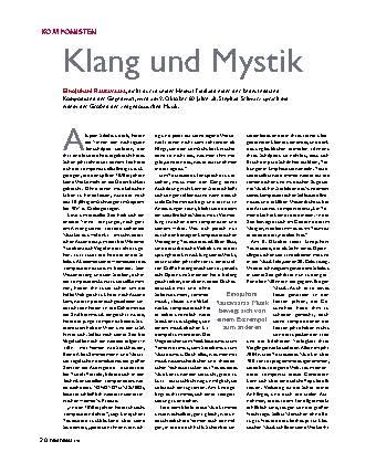 Klang und Mystik