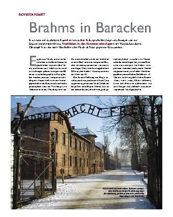 Brahms in Baracken