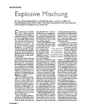 Explosive Mischung