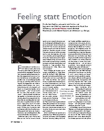 Feeling statt Emotion