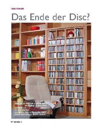 Das Ende der Disc?