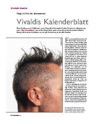 Vivaldis Kalenderblatt