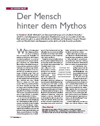 Der Mensch hinter dem Mythos