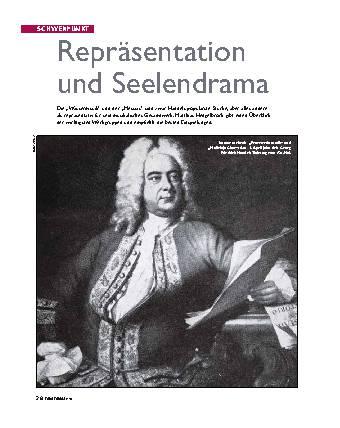 Repräsentation und Seelendrama