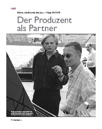 Der Produzent als Partner