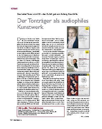 Der Tonträger als audiophiles Kunstwerk