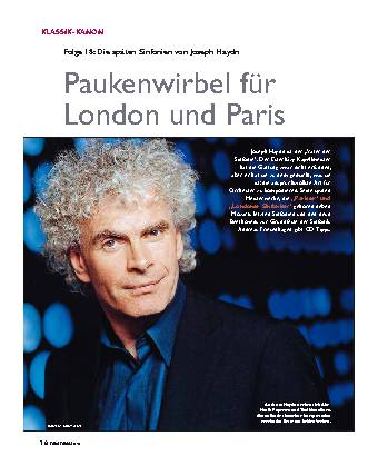 Paukenwirbel für London und Paris