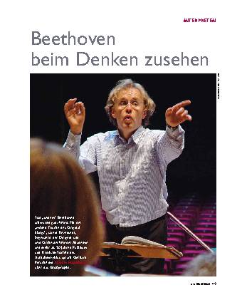 Beethoven beim Denken zusehen