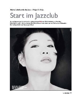 Start im Jazzclub