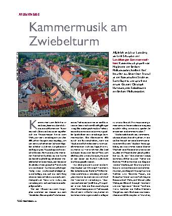 Kammermusik am Zwiebelturm