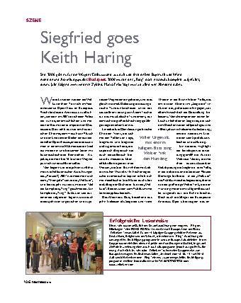 Siegfried goes Keith Haring