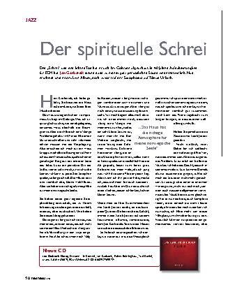Der spirituelle Schrei