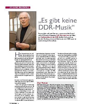 Es gibt keine DDR-Musik