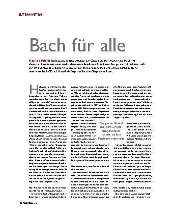 Bach für alle