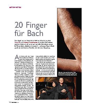 20 Finger für Bach