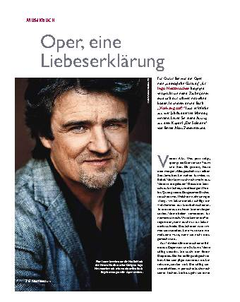 Oper, eine Liebeserklärung