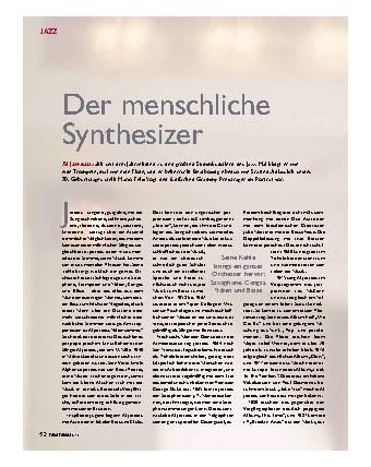 Der menschliche Synthesizer