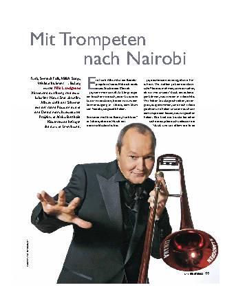Mit Trompeten nach Nairobi
