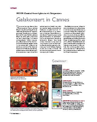 Galakonzert in cannes