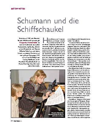 Schumann und die Schiffschaukel