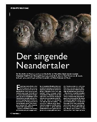 Der singende Neandertaler