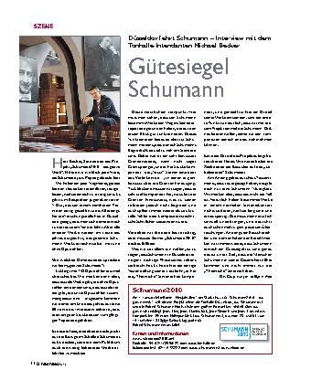 Gütesiegel Schumann