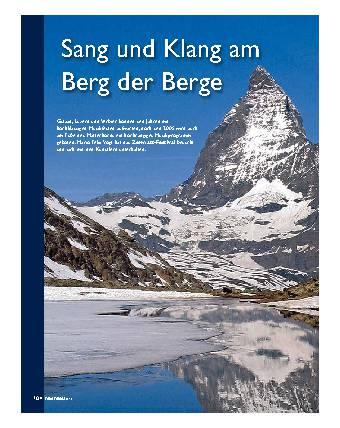 Sang und Klang am Berg der Berge