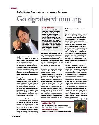 Goldgräberstimmung