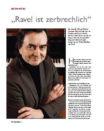 Ravel ist zerbrechlich