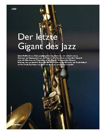 Der letzte Gigant des Jazz