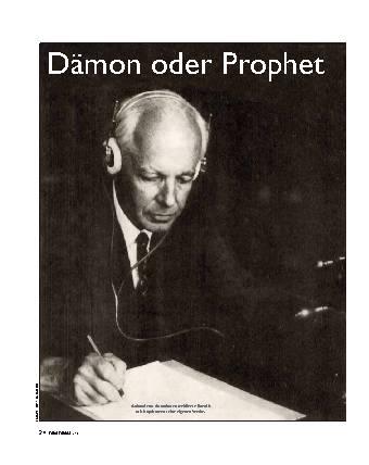 Dämon oder Prophet