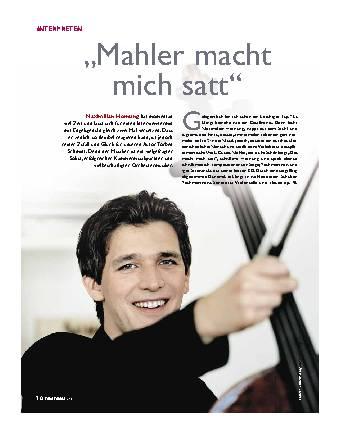 Mahler macht mich satt
