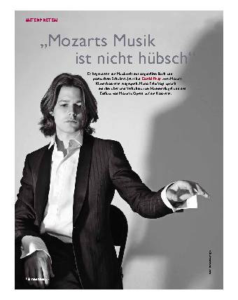 """""""Mozarts Musik ist nicht hübsch"""""""