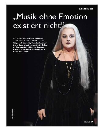 """""""Musik ohne Emotion existiert nicht"""""""