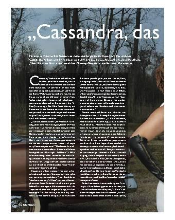 """""""Cassandra, das ist es!"""""""