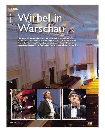 Wirbel in Warschau